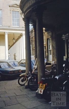 Cross Bath and Bath Street 1980
