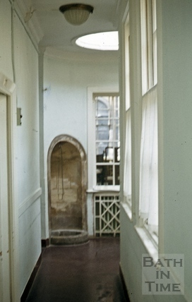 Hot Bath, corridor, (interior) 1976