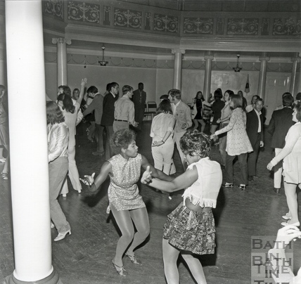 The HTV West Go-Go dance contest at the Octagon, September 1970