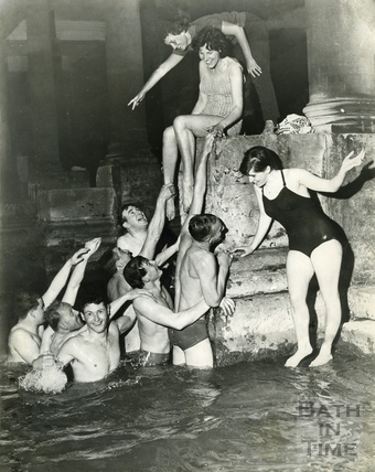 The Roman Rendezvous, Great Bath c.1965