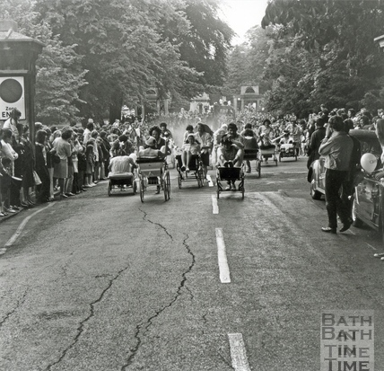 The carnival pram race, June 1972