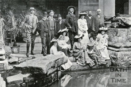 Buffalo Bill's visit to Bath 1903