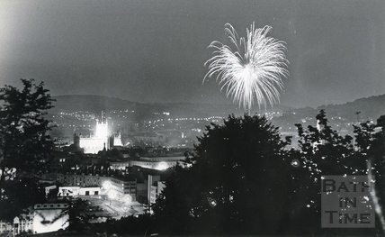 Fireworks at the Recreation Ground, 3rd August 1981