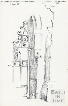 Walcot Street, Bath 21 July 1975