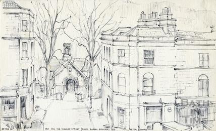 Walcot Street, Bath 20 December 1968