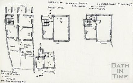 Walcot Street, Bath 26 January 1964