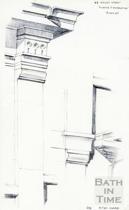 Walcot Street, Bath 18 November 1967