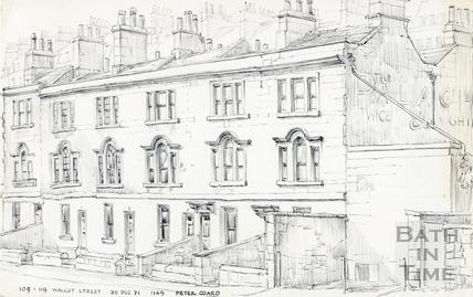 Walcot Street, Bath 28 December 1971