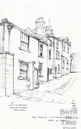 Walcot Street, Bath 20 November 1964