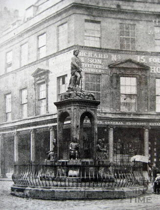 The Mineral Fountain, Stall Street c.1880