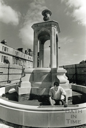 The Mineral Fountain, Terrace Walk 26 June 1989