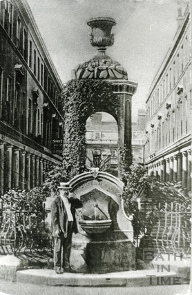The Mineral Fountain, Stall Street c.1905