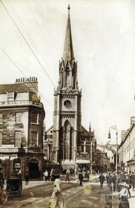 St Michaels Church, New Bond Street c.1910