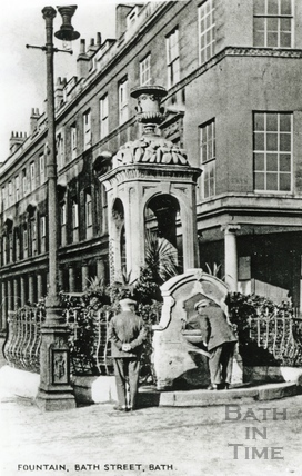 The Mineral Fountain, Stall Street c.1910