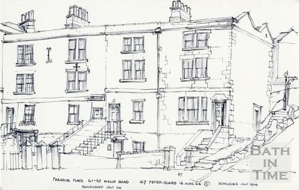 Wells Road, Bath 16 Jun 1964