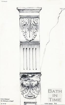 Westgate Street, Bath 18 January 1966