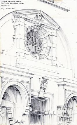 Westgate Buildings, Bath 3 March 1966