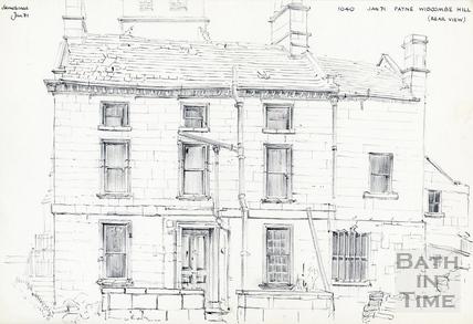 Widcombe Hill, Bath January 1971
