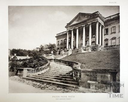 Prior Park, The Garden Front 1828