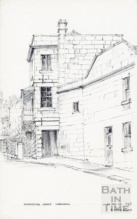 Worcester Buildings / Place / Villas, Larkhall, Bath 31 December 1968