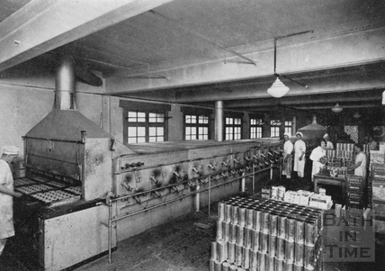 Inside the Bath Oliver Biscuit Factory, Manvers Street c.1960