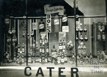 Shop window for Caters of Bath