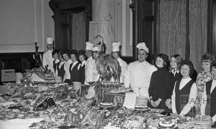 The Roman Rendezvous Banquet at the Pump Room, Bath, 1 June 1972