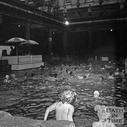 The Roman Rendezvous, Great Bath, 1 June 1972