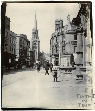 High Street looking towards Northgate Street and the corner with Bridge Street c.1900