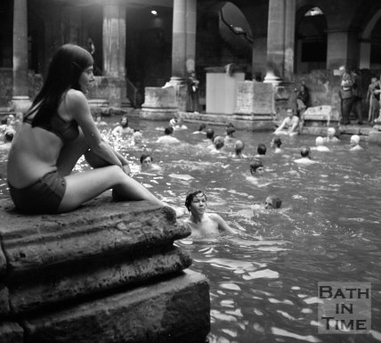 The Roman Rendezvous at the Roman Great Bath c.1978