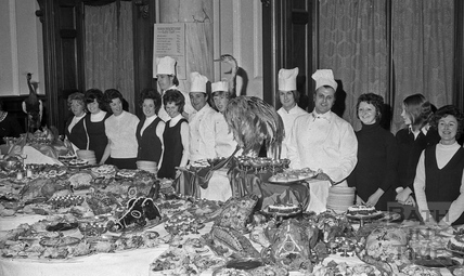 The Roman Rendezvous Banquet at the Roman Great Bath, 1 June 1972