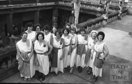 The Roman Rendezvous, Great Bath 1 June 1978