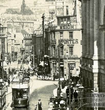 High Street, Bridge Street and Northgate Street c.1915 - detail