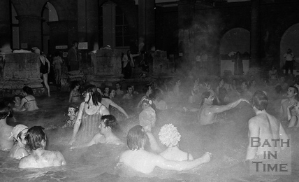 The Roman Rendezvous at the Roman Great Bath, 1 June 1972