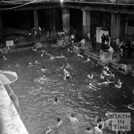 The Roman Rendezvous, Great Bath, 1 June 1972