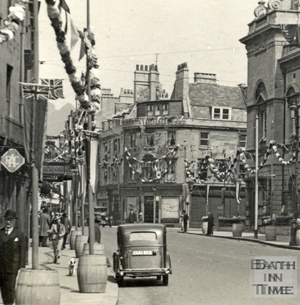 High Street May 1937 - detail