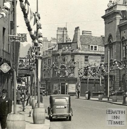 High Street May 1937 - detail