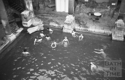 The Roman Rendezvous, Great Bath 1 June 1978