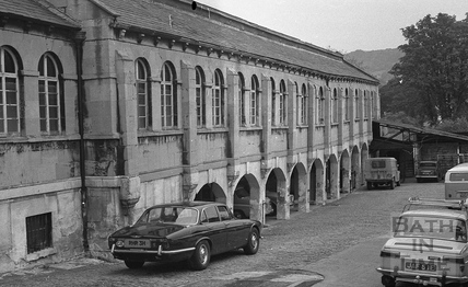 The Corn Market, Walcot Street c.1970