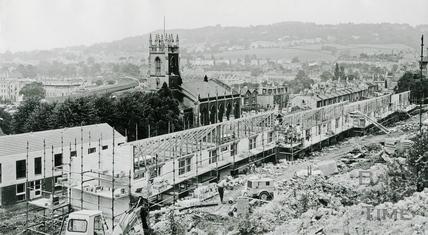 Calton Road development, Holloway August 31 1971