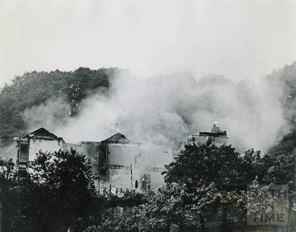 Demolition of Holloway continues, 29 June 1970