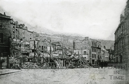 The aftermath of the Hedgemead Landslip 1881
