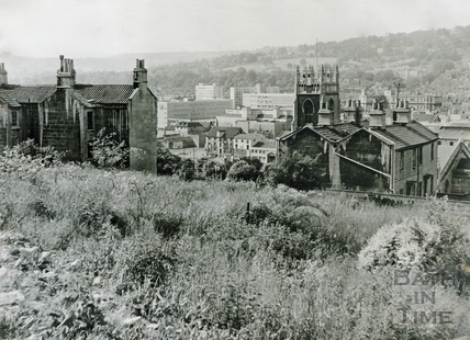 View from Calton Road, Holloway to Broad Quay June 16 1967