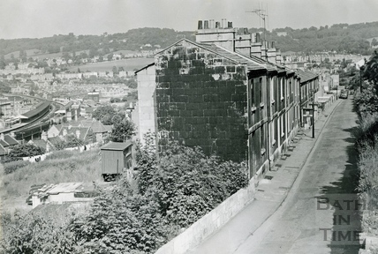 View from Calton Road June 16 1967