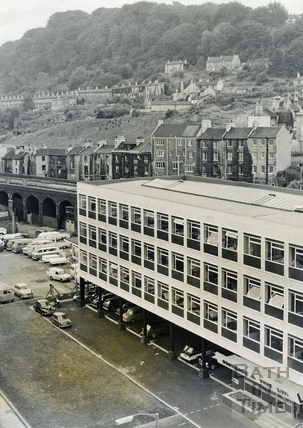 The Stothert & Pitt Company Headquarters, Lower Bristol Road late 1960s