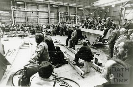 Company Meeting at Stothert & Pitt 17 Feb 1989