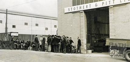 Strike at Stothert & Pitt 1971