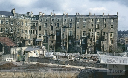 Spring Gardens and the rear of Johnstone Street, May 1972