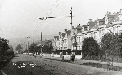 Newbridge Road with tramlines c.1920s