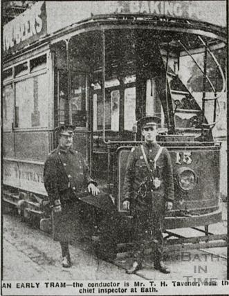An early tram c.1910